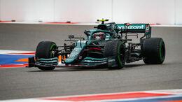 Sebastian Vettel - Aston Martin - GP Russland 2021 - Sotschi - Qualifikation
