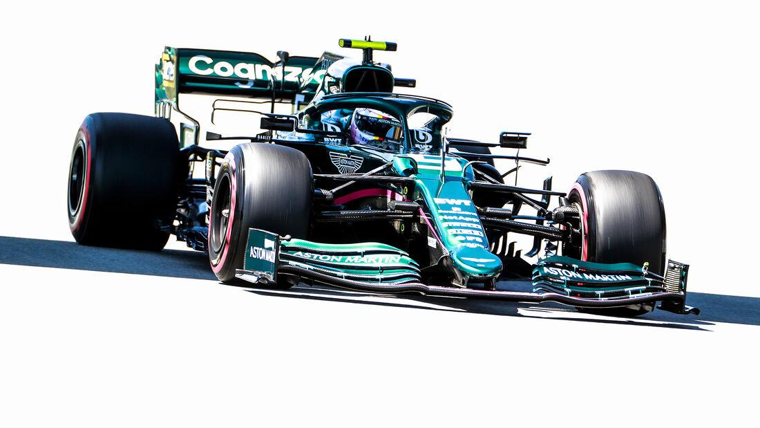Sebastian Vettel - Aston Martin - GP Spanien - Barcelona - Formel 1 - Samstag - 8.05.2021