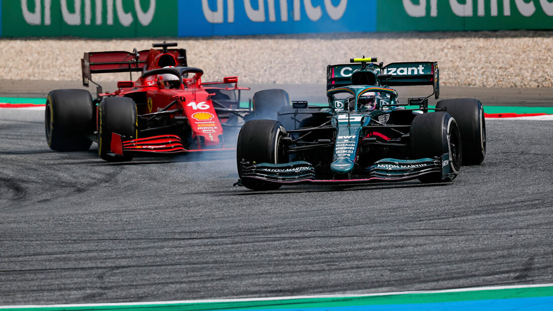 Sebastian Vettel - Aston Martin - GP Steiermark 2021 - Spielberg