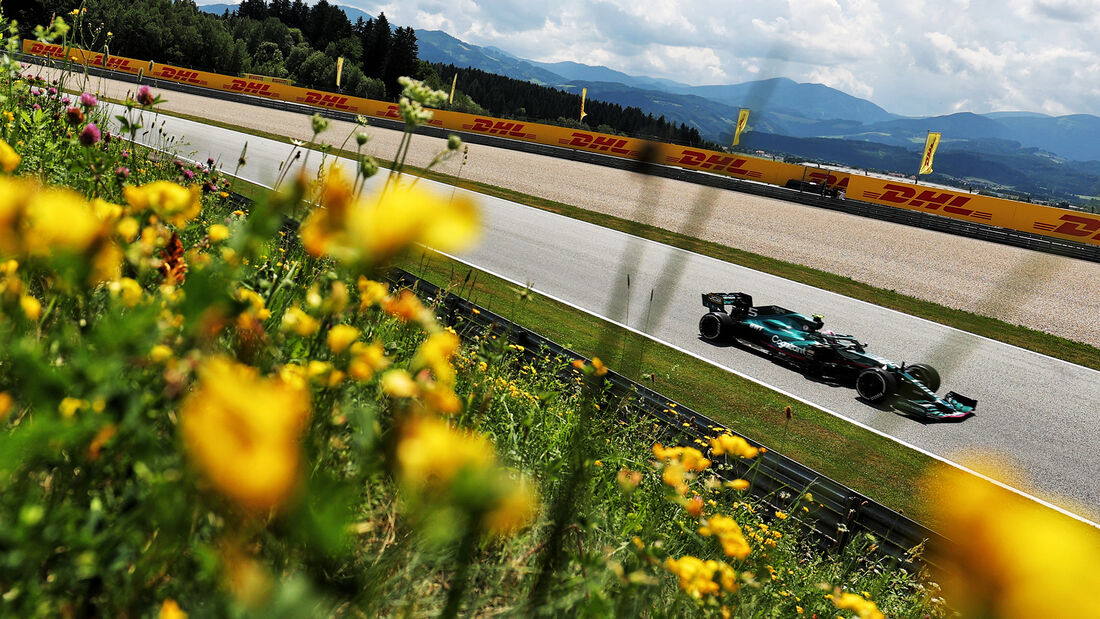 Sebastian Vettel - Aston Martin - GP Steiermark - Spielberg - Formel 1 - 25. Juni 2021
