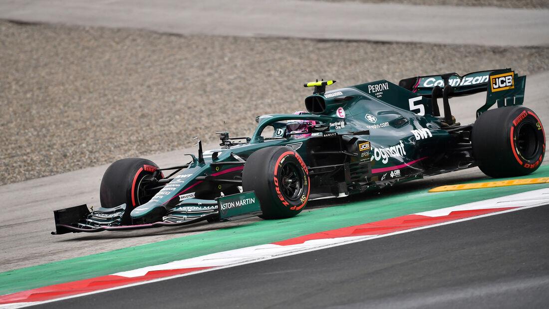 Sebastian Vettel - Aston Martin - GP Türkei - Istanbul - Formel 1 - 9. Oktober 2021