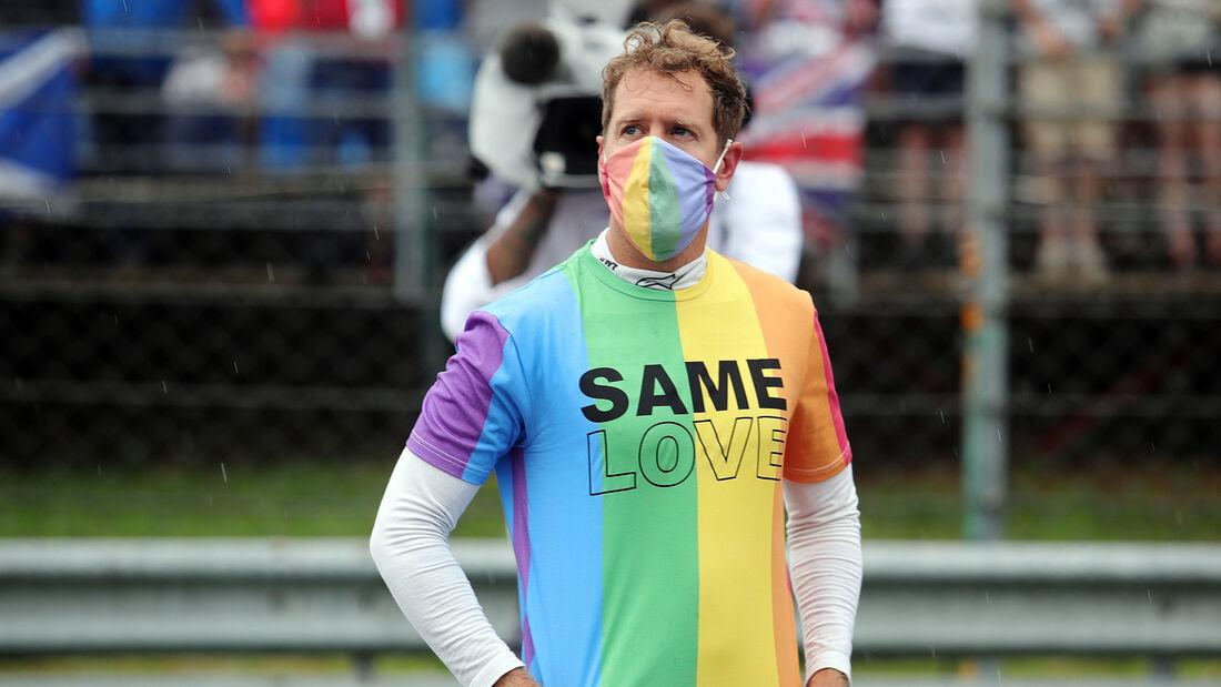 Sebastian Vettel - Aston Martin - GP Ungarn 2021 - Budapest