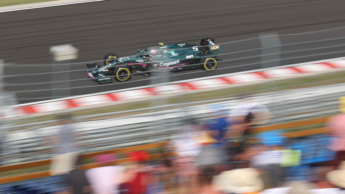 Sebastian Vettel - Aston Martin - GP Ungarn 2021 - Budapest - Rennen