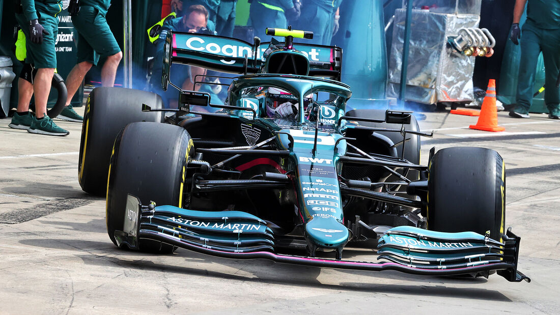 Sebastian Vettel - Aston Martin - Imola - Formel 1 - GP Emilia Romagna - 17. April 2021