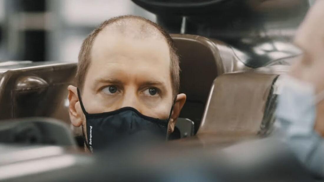 Sebastian Vettel - Aston Martin - Sitzprobe - F1 - Formel 1