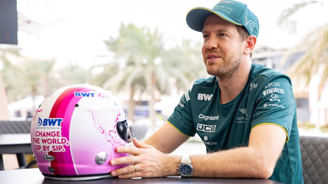 """Sebastian Vettel: 'Hace una década estaría en modo """"pánico"""" por los problemas que ha tenido en los tests'"""