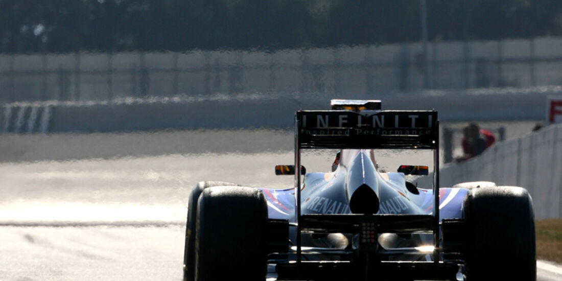 Sebastian Vettel Barcelona F1-Test 2012
