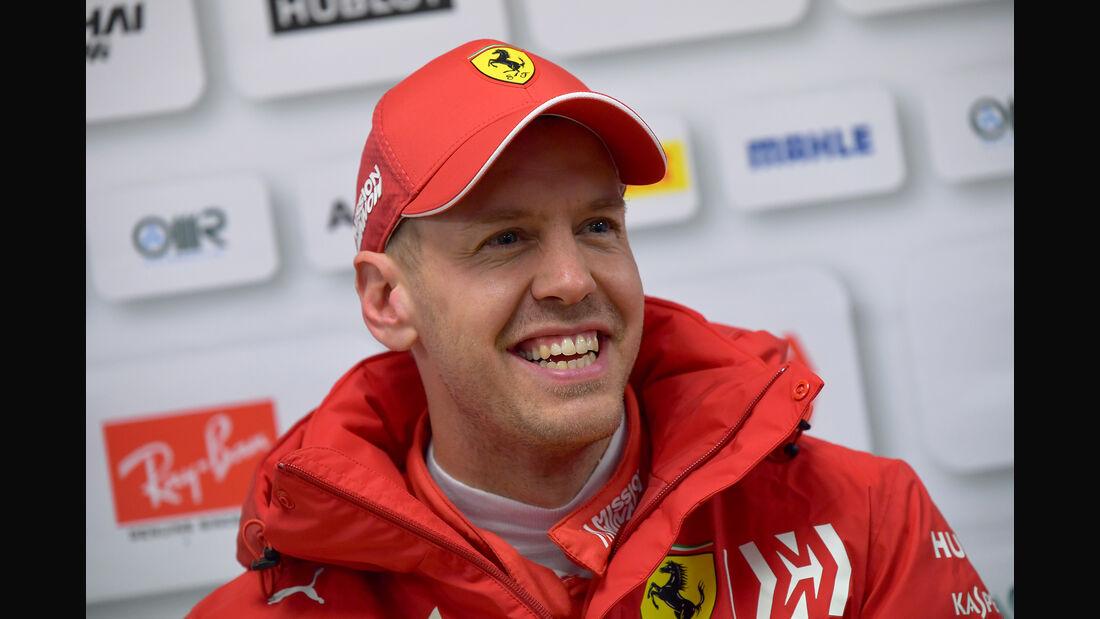 Sebastian Vettel - Barcelona F1-Test - 2019