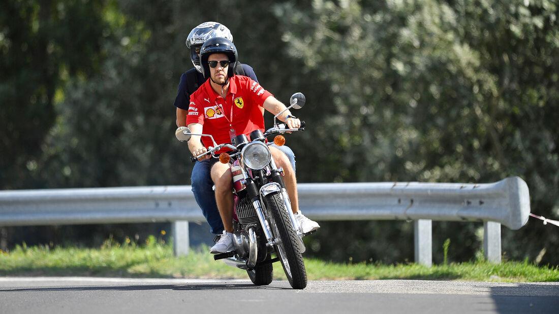 Sebastian Vettel - Bike - GP Ungarn 2019