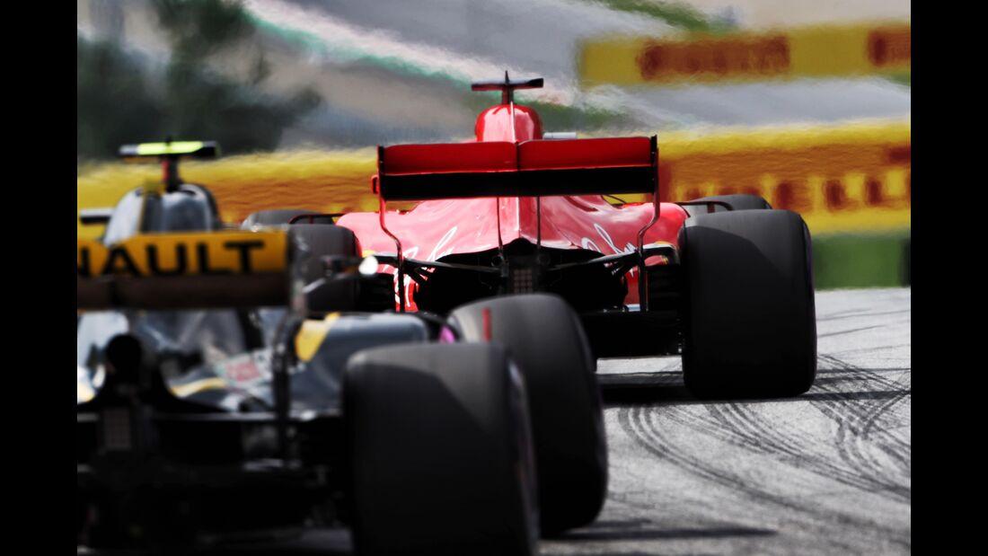 Sebastian Vettel - Carlos Sainz - Formel 1 - GP Österreich - 30. Juni 2018