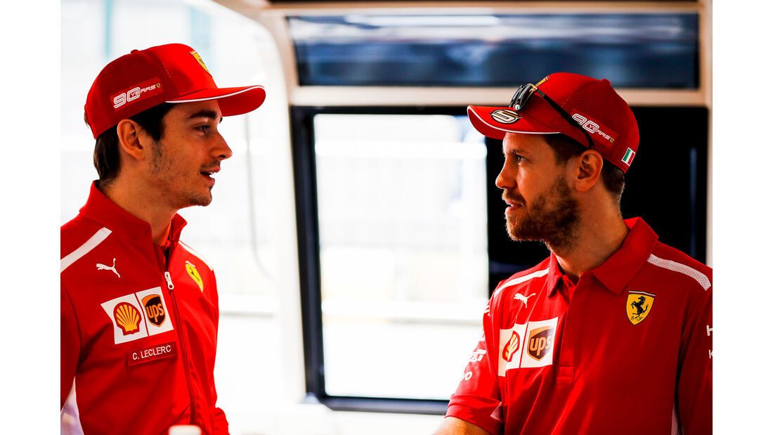 Sebastian Vettel & Charles Leclerc - Ferrari - Formel 1 - GP Australien - Melbourne - 13. März 2019