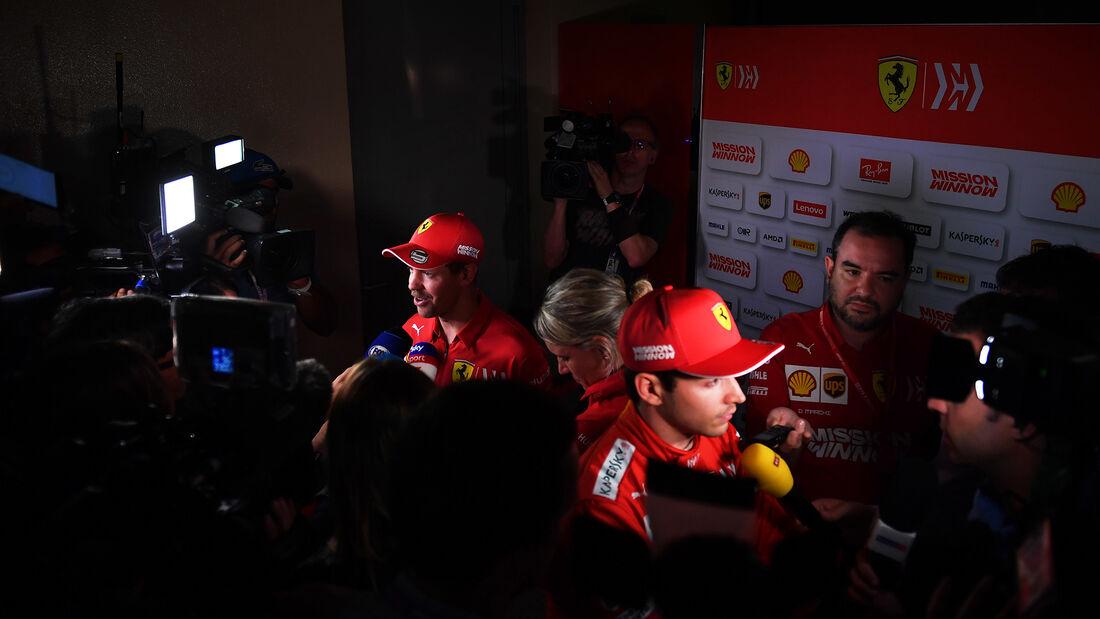 Sebastian Vettel - Charles Leclerc - Ferrari - GP Bahrain  2019