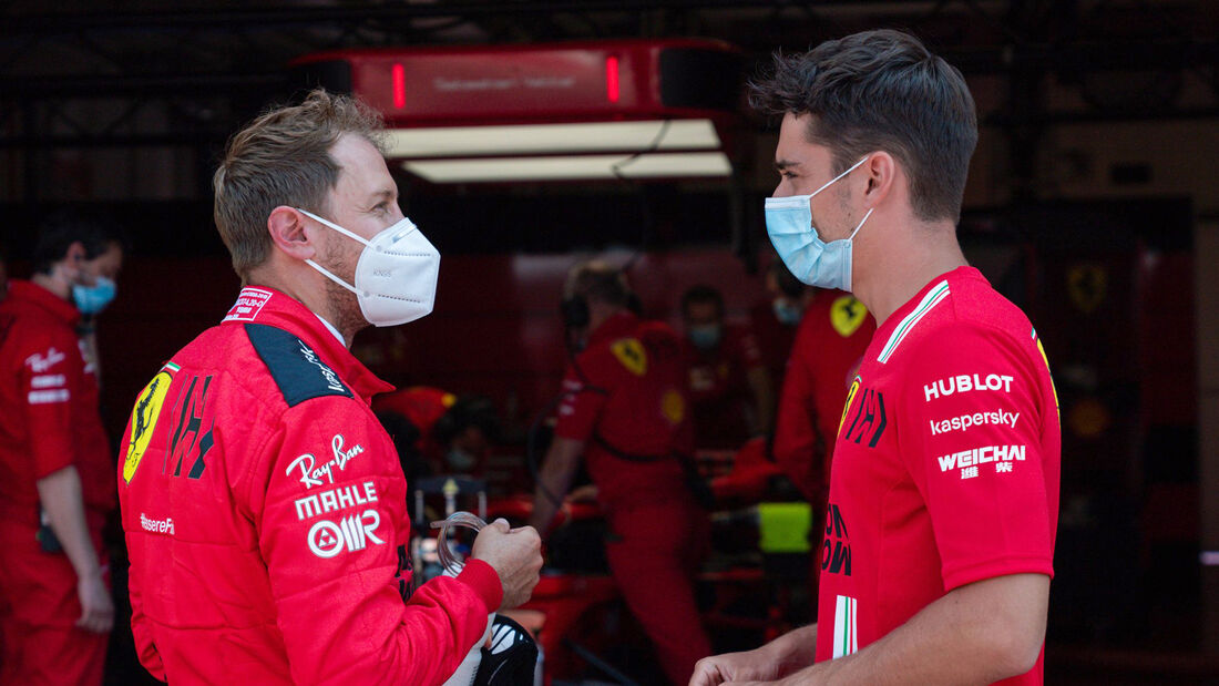 Sebastian Vettel & Charles Leclerc - Ferrari - Test Mugello - 2020