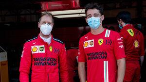 Sebastian Vettel & Charles Leclerc - Ferrari - Test - Mugello - 2020