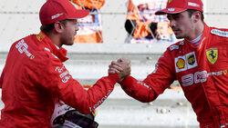 Sebastian Vettel & Charles Leclerc - GP Russland 2019