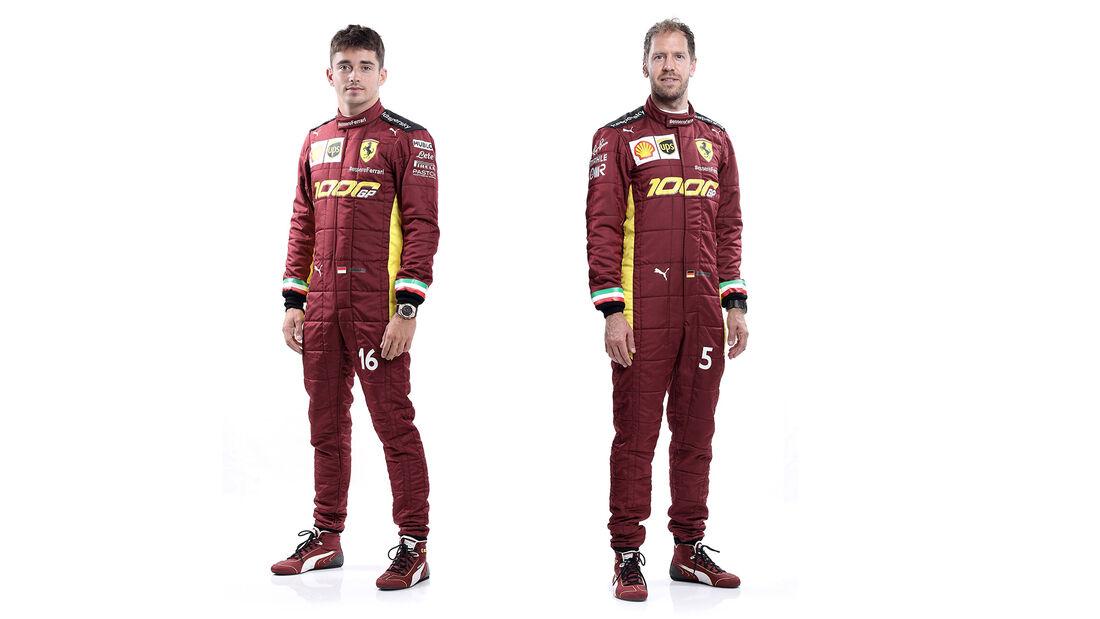 Sebastian Vettel & Charles Leclerc - GP Toskana - Mugello - 2020