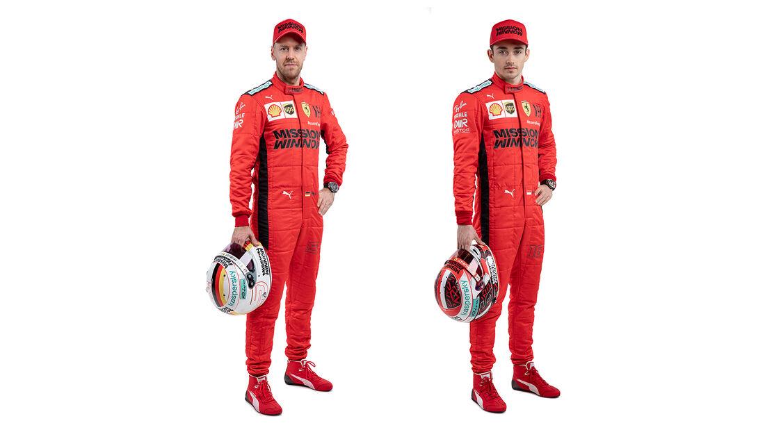 Sebastian Vettel & Charles Leclerc - Poträts 2020