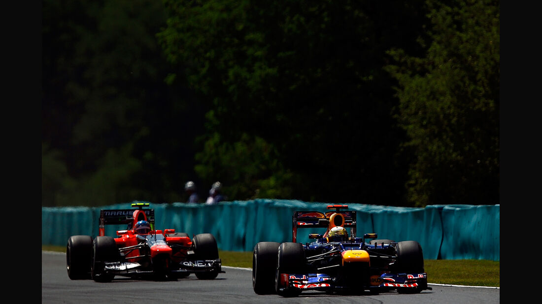 Sebastian Vettel & Charles Pic - Formel 1 - GP Ungarn - Budapest - 27. Juli 2012