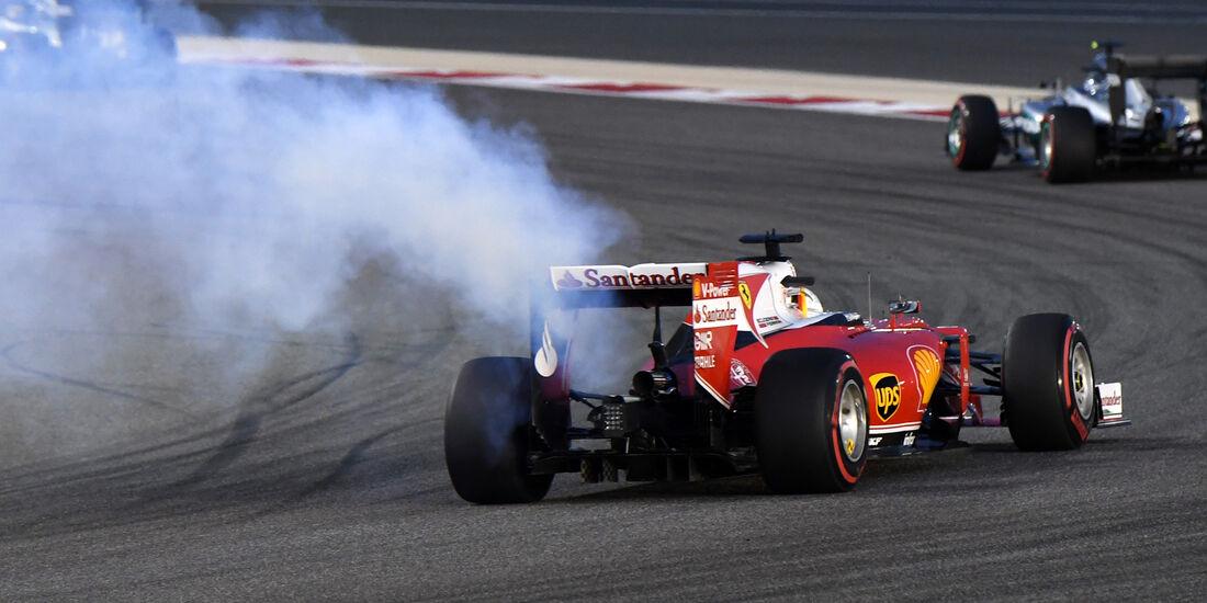 Sebastian Vettel - Crazy Stats - GP Bahrain 2016