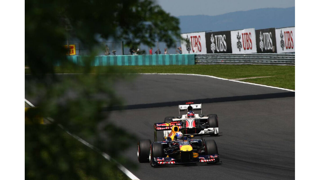 Sebastian Vettel Daniel Ricciardo - GP Ungarn - Formel 1 - 30.7.2011