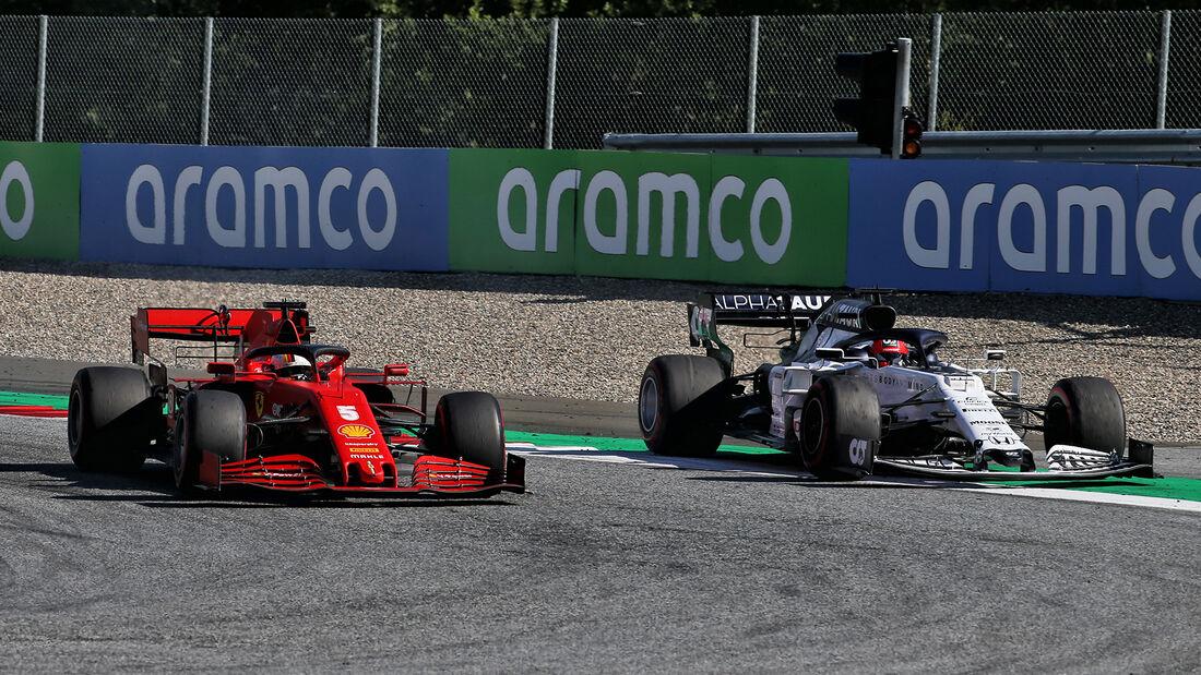Sebastian Vettel - Daniil Kvyat - GP Österreich 2020