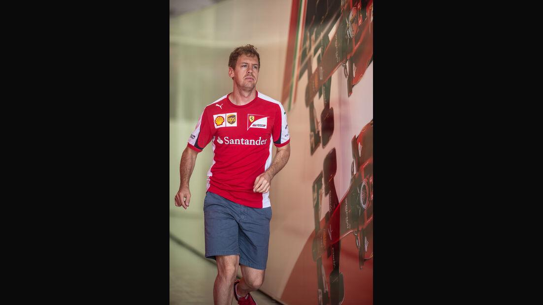 Sebastian Vettel - Danis Bilderkiste - Formel 1 - GP Bahrain 2015