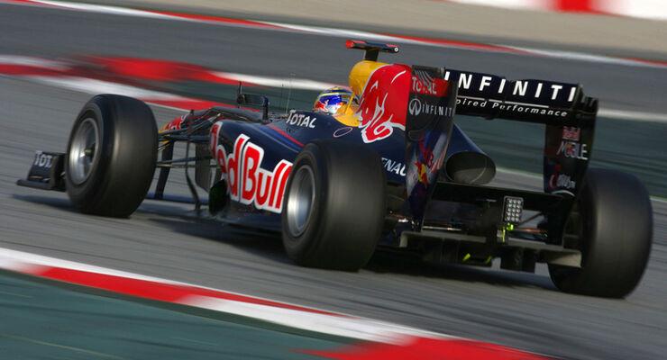 Sebastian Vettel - F1-Test Barcelona 2011