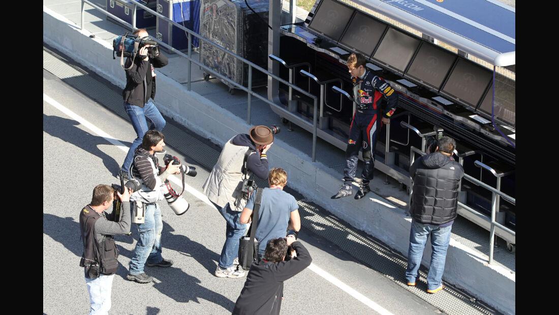 Sebastian Vettel - F1-Test - Barcelona 2012