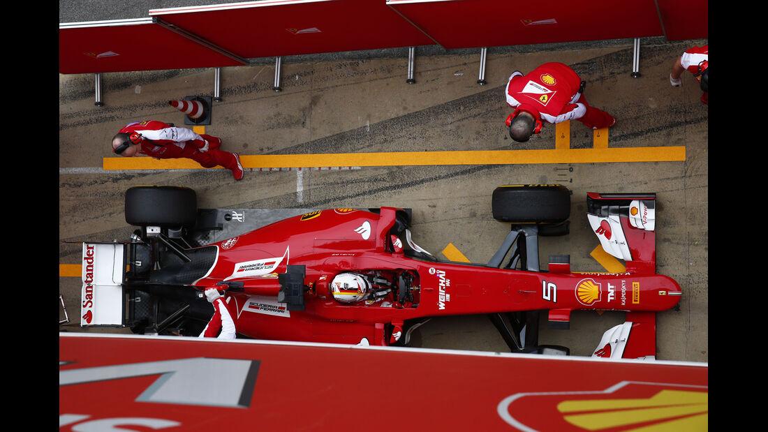 Sebastian Vettel - F1-Test Barcelona - 2015
