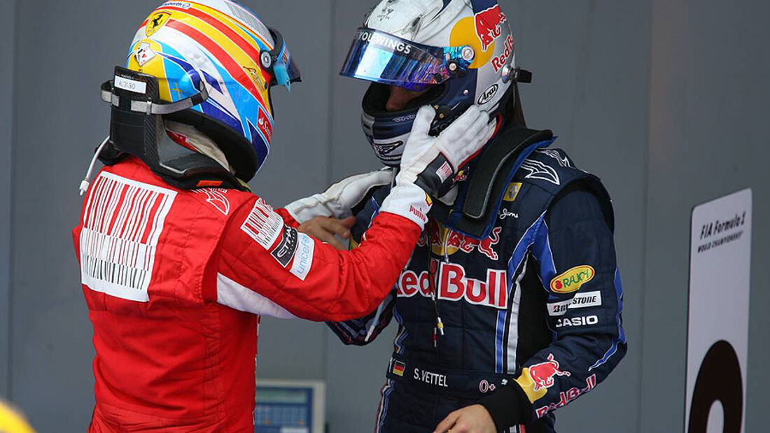Sebastian Vettel Fernando Alonso