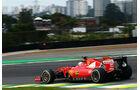 Sebastian Vettel - Fernando Alonso - Formel 1 - GP Brasilien- 15. November 2015