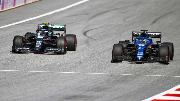 Sebastian Vettel & Fernando Alonso - GP Österreich 2021