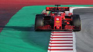 Sebastian Vettel - Ferrari - Barcelona F1-Test - 2020