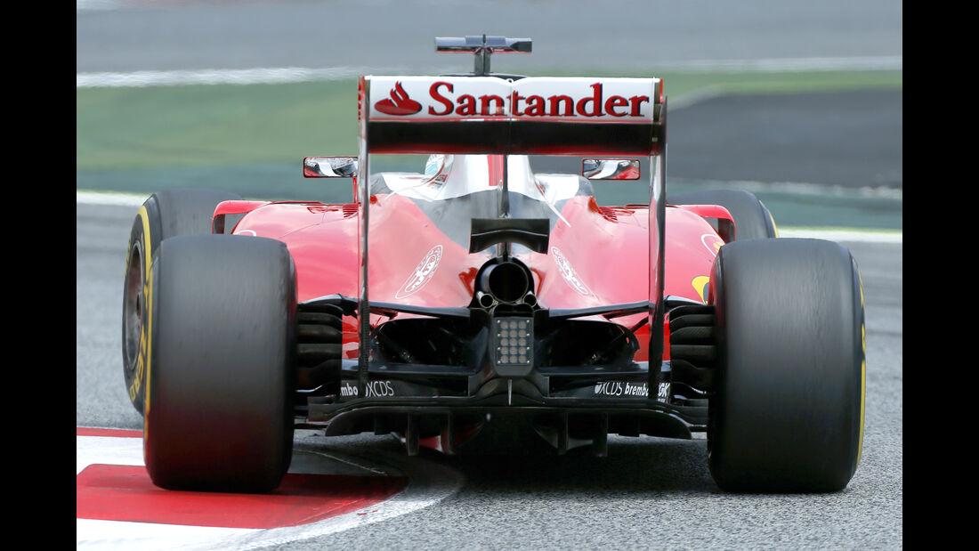 Sebastian Vettel - Ferrari - Barcelona-Test - 17. Mai 2016