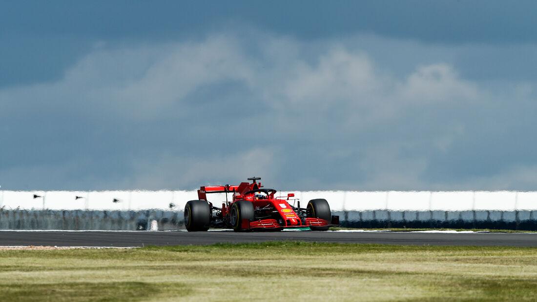 Sebastian Vettel - Ferrari - England - Silverstone