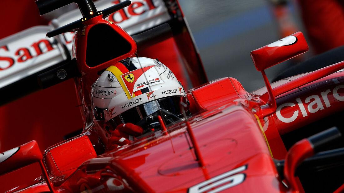 Sebastian Vettel - Ferrari - F1 2015