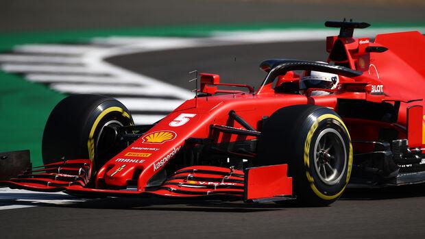 Sebastian Vettel - Ferrari - F1 70 Jahre Grand Prix - Silverstone