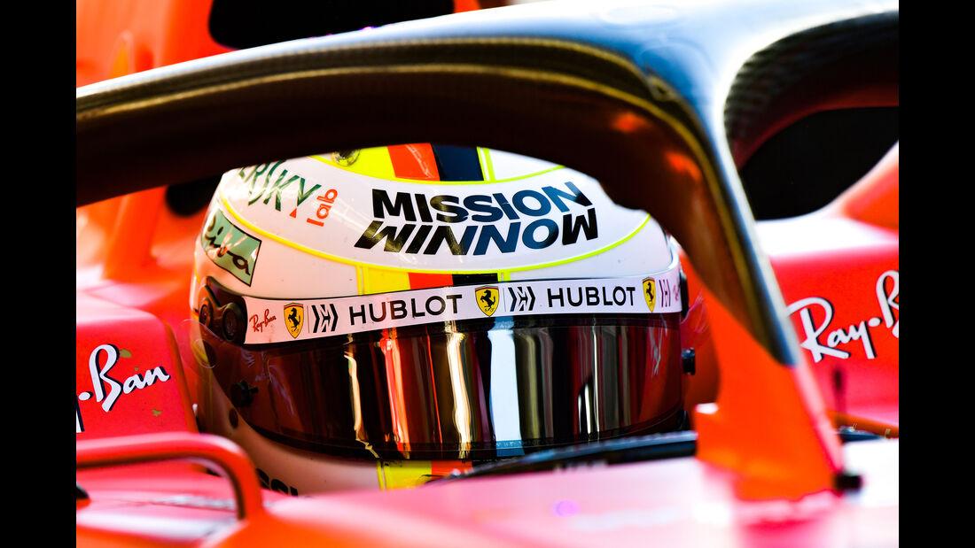 Sebastian Vettel - Ferrari - F1-Test - Barcelona  - 14. Mai 2019