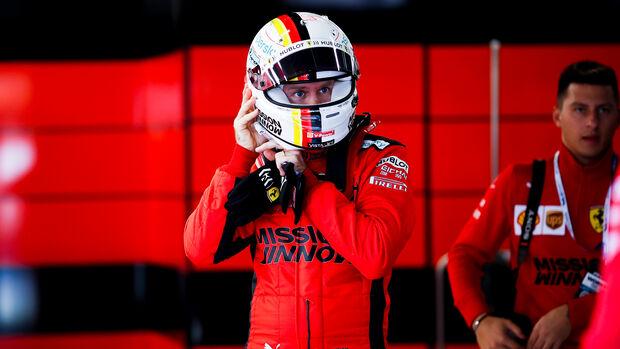 Sebastian Vettel - Ferrari - F1-Test - Barcelona - 20. Februar 2020