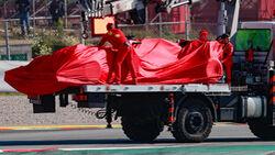 Sebastian Vettel - Ferrari - F1-Test - Barcelona - 21. Februar 2020
