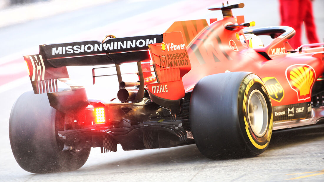 Sebastian Vettel - Ferrari - F1-Test - Barcelona - 26. Februar 2020