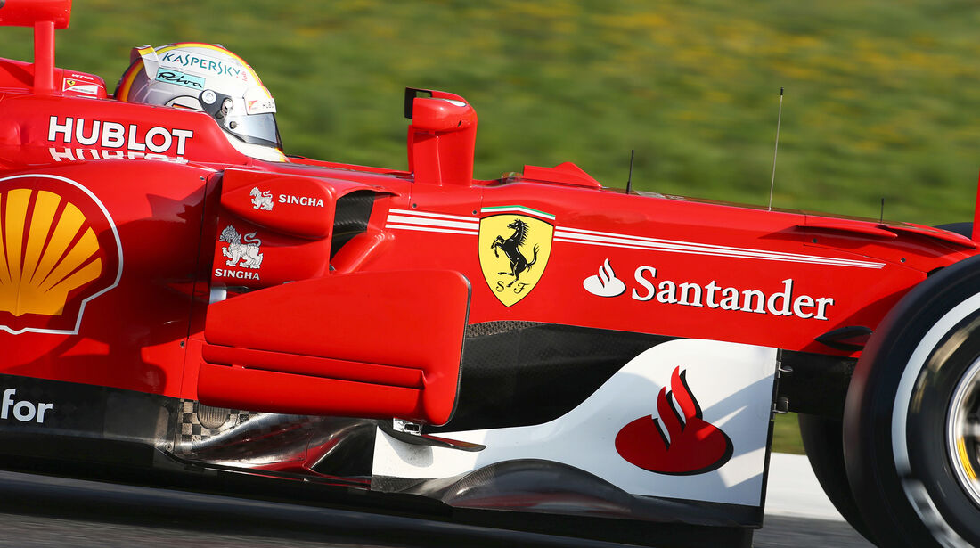 Sebastian Vettel - Ferrari - F1-Test - Barcelona - 27. Februar 2017