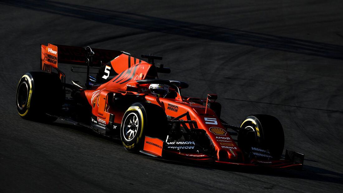 Sebastian Vettel - Ferrari - F1 - Testfahrten 2019 - Barcelona