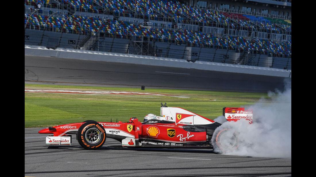 Sebastian Vettel - Ferrari F60 - Finali Mondiali - Daytona