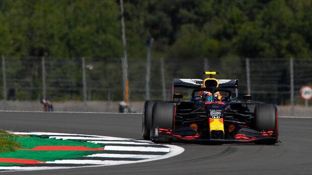 Sebastian Vettel - Ferrari - Formel 1 - GP 70 Jahre F1 - England - Silverstone - 7. August 2020