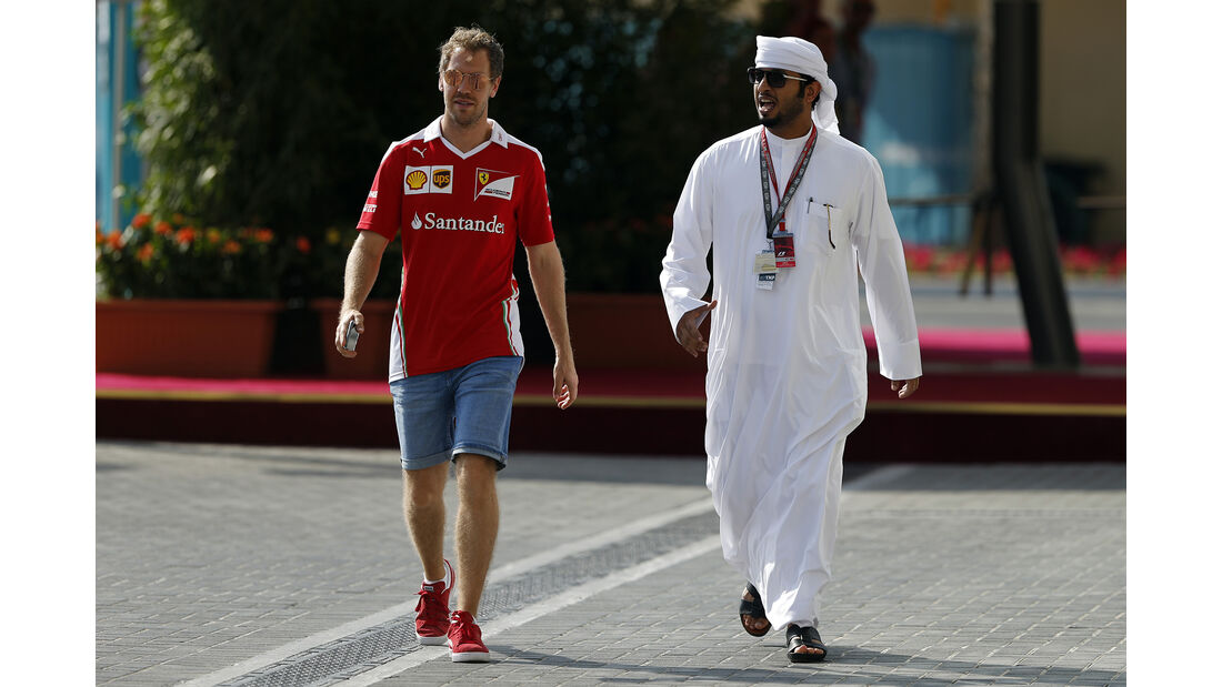 Sebastian Vettel - Ferrari - Formel 1 - GP Abu Dhabi - 24. November 2016