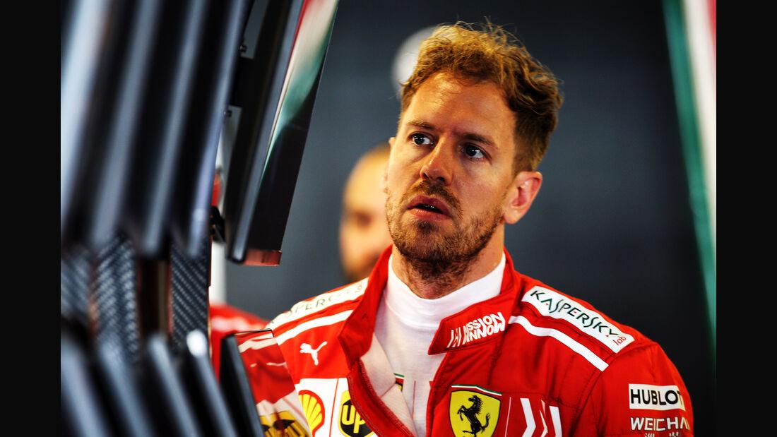 Sebastian Vettel - Ferrari - Formel 1 - GP Abu Dhabi  -24. November 2018