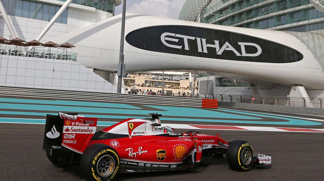 Sebastian Vettel - Ferrari - Formel 1 - GP Abu Dhabi - 25. November 2016