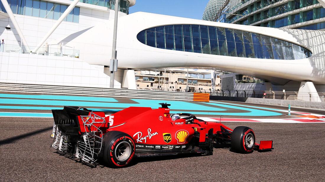 Sebastian Vettel - Ferrari - Formel 1 - GP Abu Dhabi - Freitag - 11.12.2020