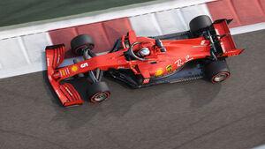 Sebastian Vettel - Ferrari - Formel 1 - GP Abu Dhabi - Samstag - 12.12.2020